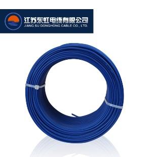 江苏东虹电缆BVR10平方国标铜芯电线100米