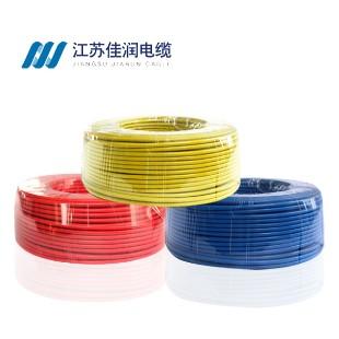 佳润电线电缆BV4平方国标铜芯电线100米