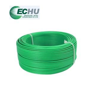 上海易初电线电缆 BVR6平方国标多股铜芯家用电线 100米