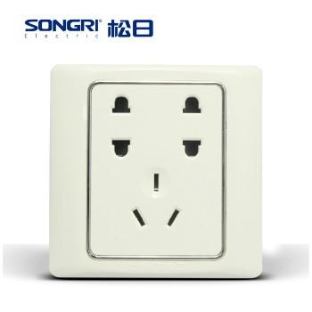 【松日】 插座 S2008系列 七孔插座