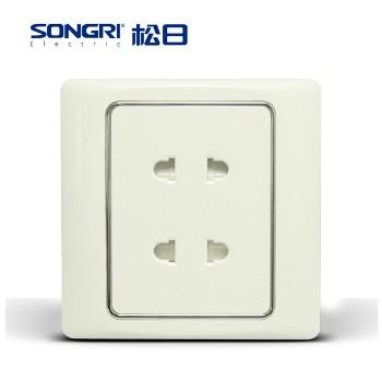 【松日】 插座 S2008系列 四孔插座