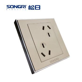 【松日】 插座 智慧系列 六孔插座 10A
