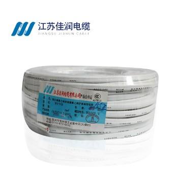 佳润电线电缆BVVB2*1.5平方两芯硬护套铜芯电线100米