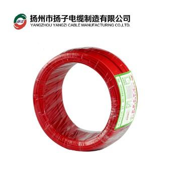 扬州扬子电缆BVR10平方国标铜芯电线100米