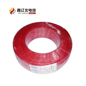 鑫辽北电线电缆BV4平方国标铜芯电线95米