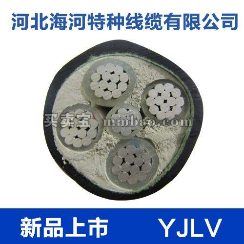 河北海河  0.6/1kV YJLV铝芯交联聚乙烯绝缘聚氯乙烯护套电力电缆1*16-1*35
