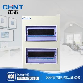 正泰电器 照明箱 PZ30-24回路