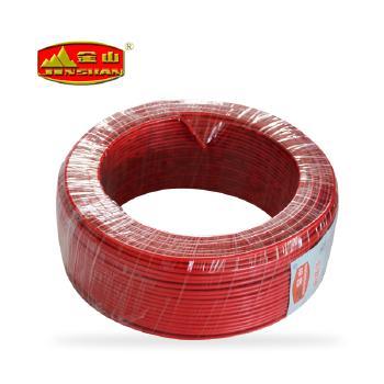 天津金山电线<span style='color:red;'>BV2.5</span>平方铜芯国标电线100米