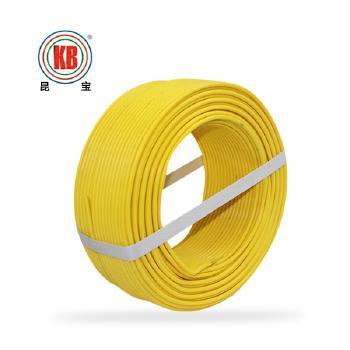 昆明昆宝电线BVR6平方国标铜芯电线100米