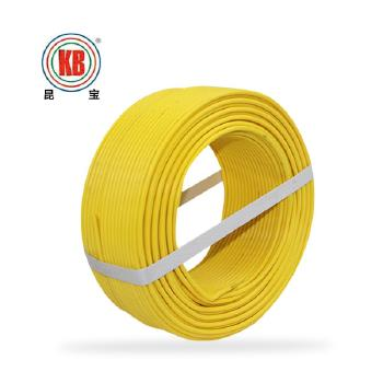 昆明昆宝电线BVR10平方国标铜芯电线100米