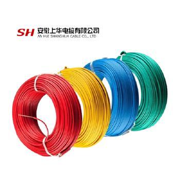 安徽上华电缆BVR10平方国标铜芯电线100米