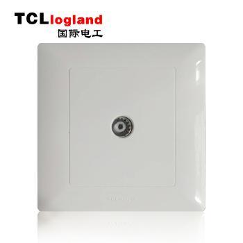罗格朗(TCL logland) 工程款V4系列 86型 电视插座