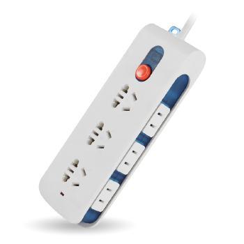 Gowone购旺 多功能数码插座/插排/插线板 充电器排插 电源转换器 带侧插总控开关  D3