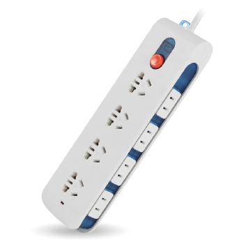 Gowone购旺 多功能数码插座/插排/插线板 充电器排插 电源转换器 带侧插总控开关  D4
