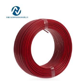 吉安特种线缆RV1.5平方国标铜芯电线多股软线100米 红色