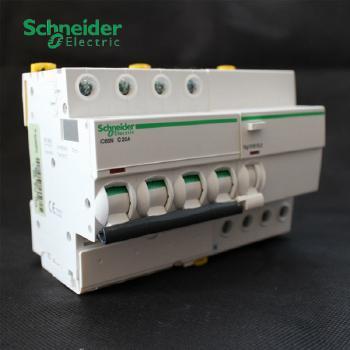 施耐德 IC65N系列 ELE 4P小型断路器带漏保