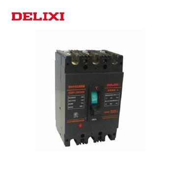 德力西 塑料外壳式断路器 DZ20Y-100/3300  100A