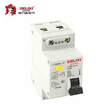 德力西  漏电保护断路器  CDB3LE-40 1P N  20A