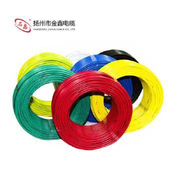 扬州金鑫线缆BV1.5平方国标铜芯电线硬线100米