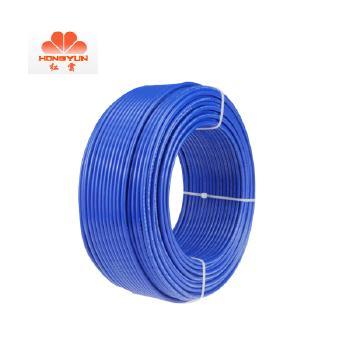 红云电缆 BV1 平方单芯单股硬线 100米