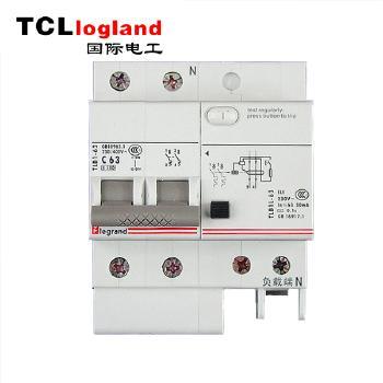 罗格朗(TCL logland) 漏电保护器 2P 63A