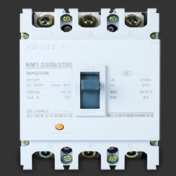 【正泰】 塑壳断路器 NM1-250S/3300 3P  200A