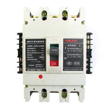 德力西 CDM1-225 塑壳配电保护