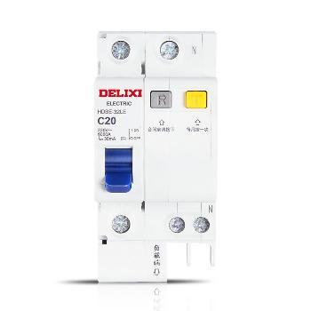 德力西 HDBELE-1P+N 家用漏电断路器