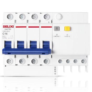 德力西 HDBELE-4P 小型家用漏电断路器