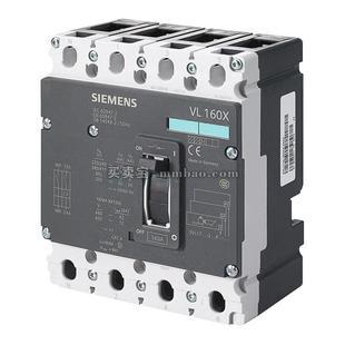 西门子 3VL160XH 热磁式 固定式 手动 4P 塑壳配电保护